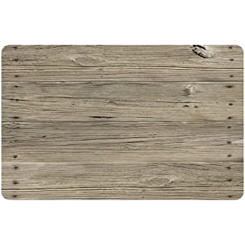 Wonderful Bungalow Flooring 2 By 3 Feet Surfaces Floor Mat, Nailed Planks Design