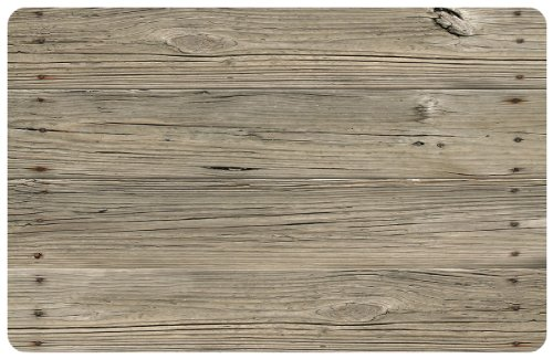 Bungalow Flooring 2 by 3-Feet Surfaces Floor Mat, Nailed Planks Design