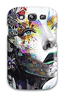 New Arrival Case Cover With GZyhtCk542cFFtS Design For Galaxy S3- Colored Girl Cool