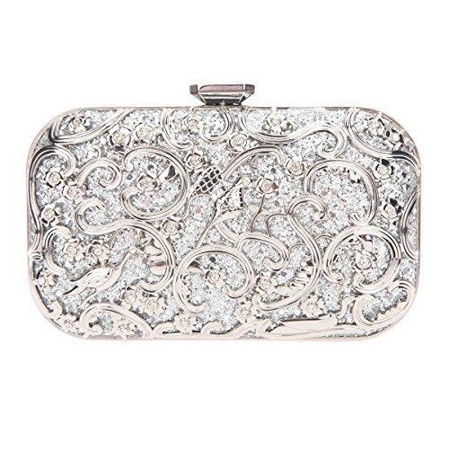 Fawziya Bird Purses And Handbags For Women Bags Online Shopping Fashion-Silver