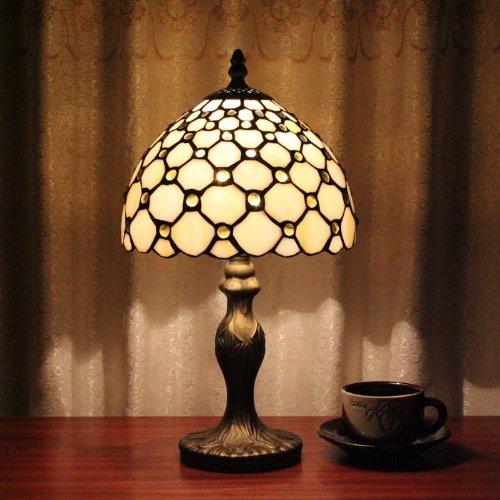Tiffany lampada da comodino camera da letto lampada da tavolo 8 ...