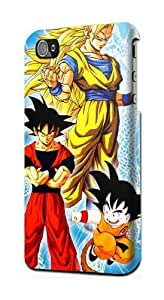 LJF phone case Dragonball Z Kai Dragon Ball DBZ Snap on Plastic Case Cover Compatible with Apple ipod touch 4