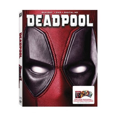 Deadpool Limited Edition Exclusive Packaging with Collectible Postcards Blu Ray + DVD + Digital HD