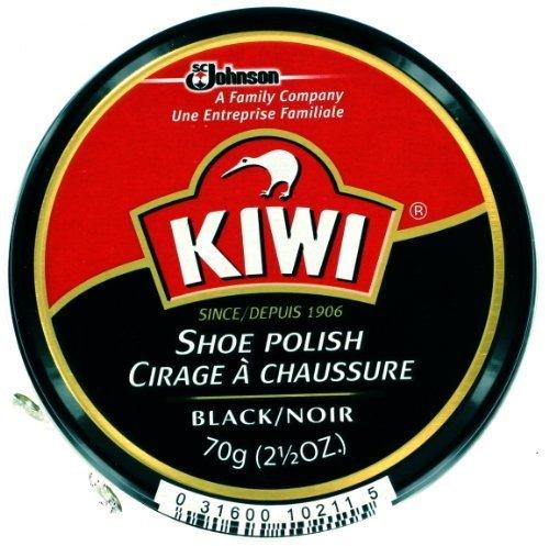 Kiwi Shoe Polish - Black, Giant Size 2.5 Oz (Pack of 3) (Kiwi Polish Paste)