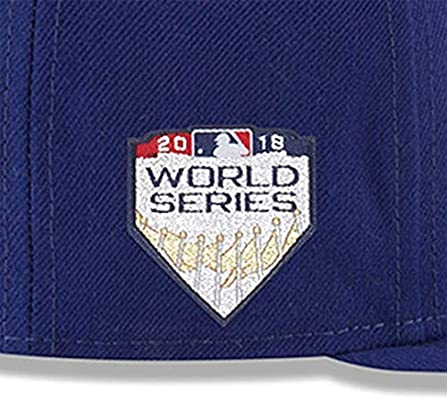 31cebb64e1ec4b ... ireland new era los angeles dodgers royal 2018 world series bound side  patch 9fifty adjustable hat