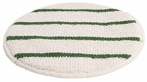 Renown REN02658 White Carpet Bonnet Pad, 19