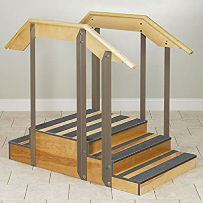 """Small Up/Down Physical Therapy Staircase 30"""" Width"""