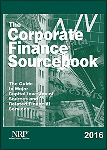 Corporate Finance Sourcebook 2016