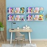 NIUBEE Kids Acrylic Floating Bookshelf 36