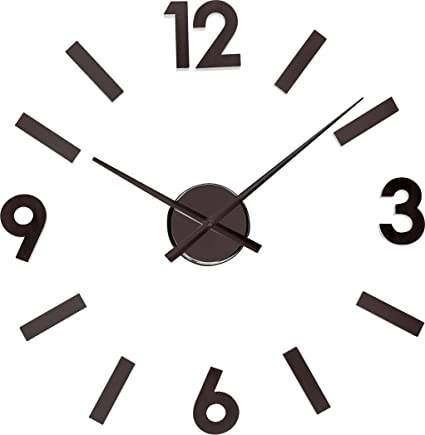 Balvi - Sticky Time adhesive wall clock