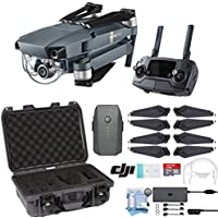 DJI Mavic Pro Drone with Custom Nanuk Waterproof Hard Case (Olive)