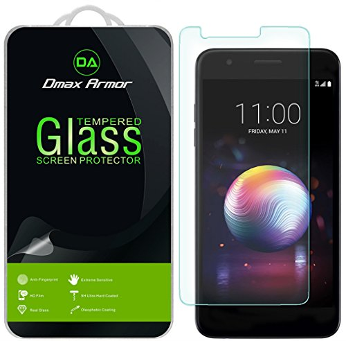 [2-Pack] Dmax Armor for LG K30 Tempered Glass Screen Protector with Lifetime Replacement
