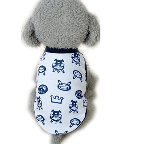 Boomboom Cotton Dog Clothes Milk Small Puppy Pet Clothes (Black)]()