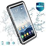 Samsung Galaxy Note 8 Waterproof Case, Spidercase Audio Enhanced Full Body Rugged Underwater Full Sealed Cover Snowproof Dirtproof IP68 Certified Waterproof Case for Samsung Galaxy Note 8