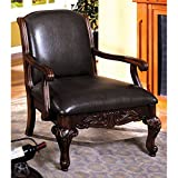 247SHOPATHOME IDF-AC6177 Armchairs, Brown