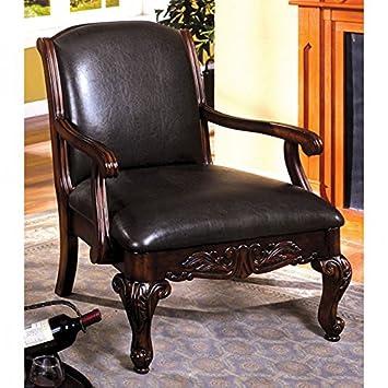 24 7 Shop at Home 247SHOPATHOME IDF-AC6177 armchairs, Brown