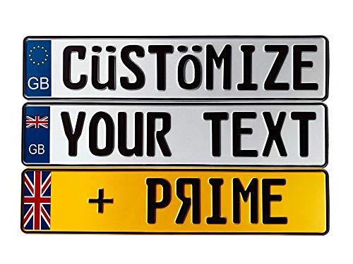 European Plate - European License Plates Great Britain Custom