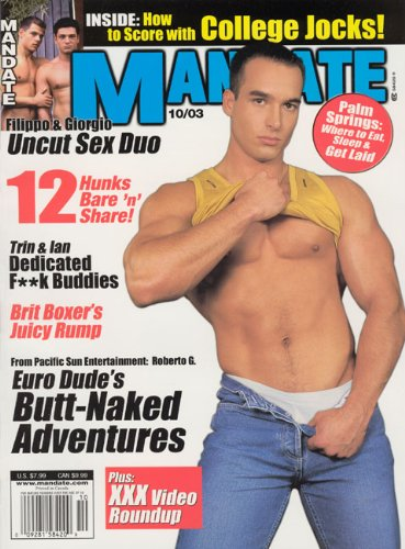Mandate Magazine - October 2003 (Cover Model - Roberto Giorgio) PDF