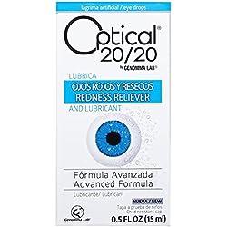 OPTICAL 20/20 Advanced Formula Eye Drops, Redness Irritation Dryness Reliever, 0.5 fl. oz.