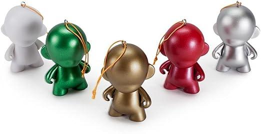 Holiday Kidrobot Munny Ornament DIY Christmas