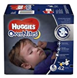 Huggies OverNites Diapers, Size 6 -Pack of 2