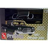 AMT 31278 1957 Chrysler 300C - Pro Shop - Fully Decorated - Plastic Model Kit - 1:25 Scale - Skill Level 2 by AMT Ertl