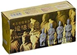 "StealStreet 20029 Kneeling Archer Terracotta Warriors Excavation Kit, 6"", Beige"