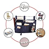 MoYag 8 Pockets Bedside Storage Caddy Hanging