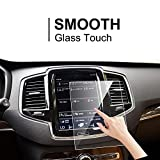 LFOTPP Volvo V90 XC90 S90 Sensus 8.7 Inch Car Navigation Screen Protector,[9H] Tempered Glass Infotainment Screen Center Touch Screen Protector Anti Scratch High Clarity