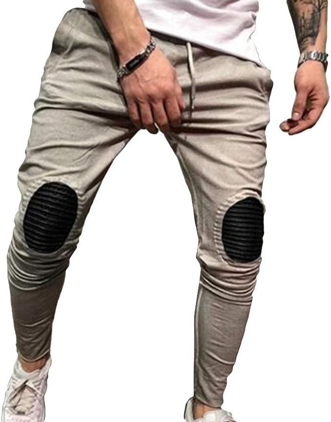 Hombre Deporte Pantalones Moda Casuales Fitness Pantalones Hip Hop ...