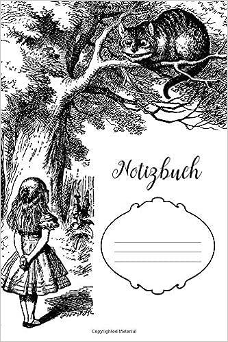 Amazon Com Notizbuch Alice Im Wunderland Alice Trifft Die