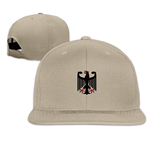 YP Men' S Coat Of Arms Of Germany Snapback Cap Natural One Size