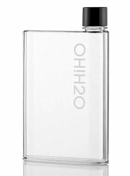 Flat Water Bottle >> Water Bottle Flat Drinks Flasks Rectangular Shape Bpa Free Leak