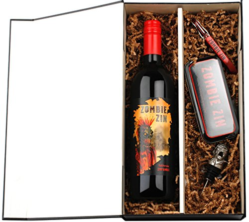 Ultimate Zombie Fan Red Wine Gift Set with Zombie Zinfandel, 1 x 750mL