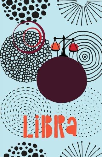Libra: Bullet Journal Astrology Notebook Dotted Grid, (5.5 x 8.5)