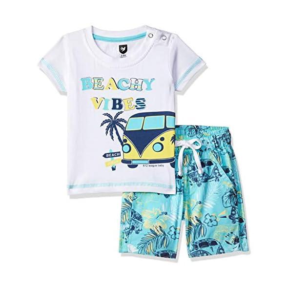 612 League Baby Boy's Cotton Clothing Set