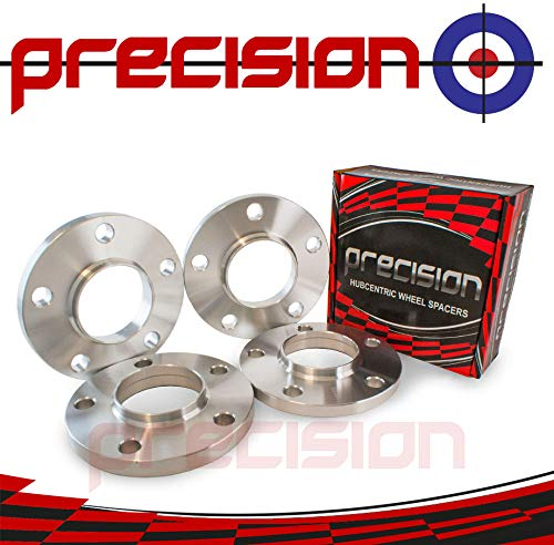 2PHS3+2PHS4123 Staggered Fitment Hubcentric Alloy Wheel Spacers 12mm//15mm for ƁMW 4 Series M4 Part No