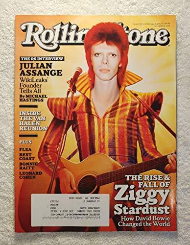 The Rise & Fall of Ziggy Stardust - How David Bowie Changed The World - Rolling Stone Magazine - #1149 - February 2, 2012 - Julian Assange (WikiLeaks) Interview, Inside The Van Halen Reunion