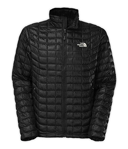 The North Face Men's Thermoball Full Zip Jacket, TNF Black 2 LG (Zip Coat Full Quilted)