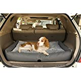 K&H Pet Products Travel/SUV Pet Bed Large Gray 30″ x 48″