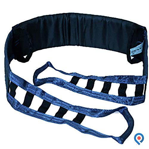 Pivit Raising Belt For Sit To Stand Up Patient Transport Lifts | Continue To Live Your Life In The Home You Love | Handicap Body Transfer Assist Slings For Wheelchair Transfer & Senior Fall Prevention (Buttock Lift Care)