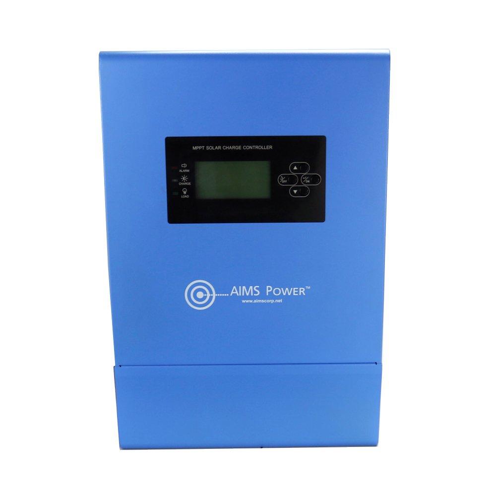 Aims Power SCC100AMPPT 100 AMP Solar Charge Controller, 12V - 24V - 36V - 48V by Aims