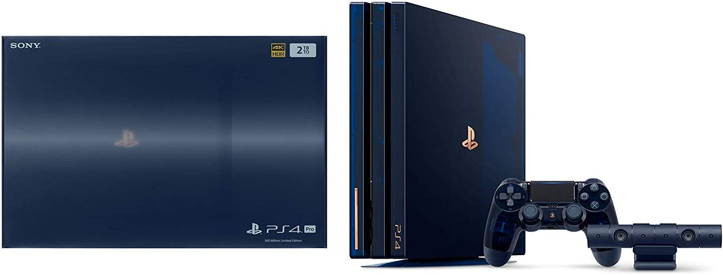 Amazon.com: Playstation 4 PRO 2Tb 500-Million Limited ...