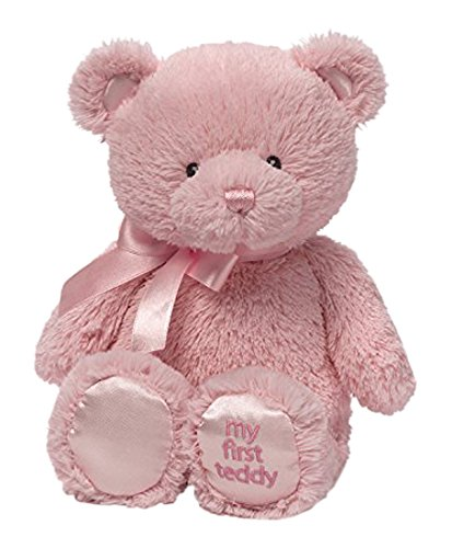 Gund My First Teddy Bear Baby Stuffed Animal, 10 inches (Gift For Newborn Baby Girl)