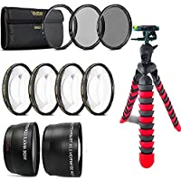 52mm Fisheye Wide Angle and Telephoto Lens Accessory KIT For NIKON DSLR Camera