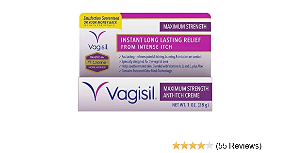 69a4c696 Amazon.com : Vagisil Anti-Itch Crème, Maximum Strength, 1 Ounce : Yeast  Infection Treatment Products : Grocery & Gourmet Food