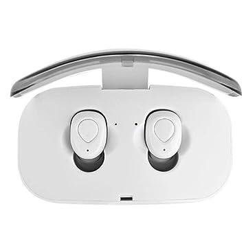 Elesoi Auriculares Bluetooth inalámbricos estéreos inalámbricos universales de Bluetooth del Auricular de la En-O Auriculares y Cargadores suplementarios: ...