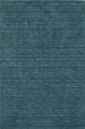 picture of Dalyn Rafia Area Rug RF100CO Cobalt Solid Striation 8' x 10' Rectangle