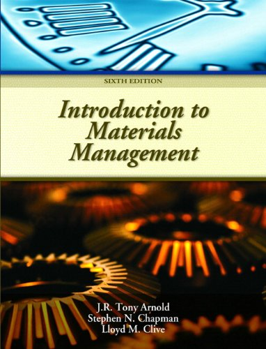 Introduction to Materials Management (6th Edition)