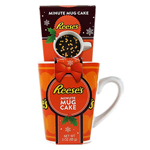 Reese's Minute Mug Cake Gift Set, with Hershey's Chocolate a